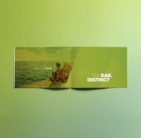 Branding Mockups Bundle Scheme For a4 landscape brochure mockup psd